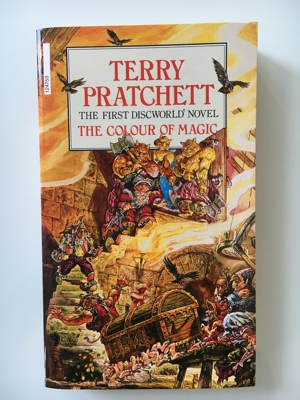 review book the colour of magic terry pratchett de kleur van toverij