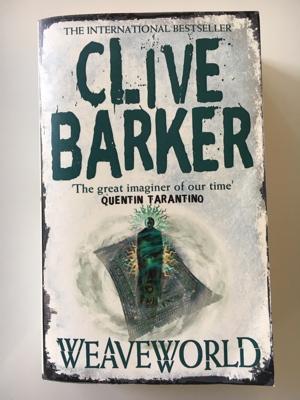 review book weaveworld clive barker weefwereld