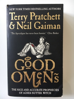 review book good omens terry pratchett neil gaiman