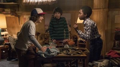 review series stranger things season 1 dsutin mike lucas
