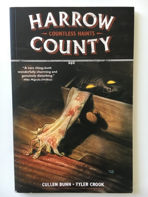 review graphic novel harrow county countless haints