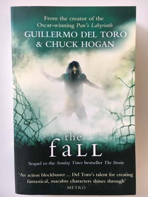 review book the fall guillermo del toro chuck hogan