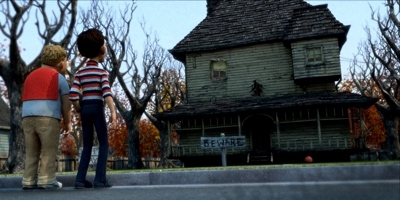 review film monster house 2006