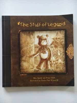 review graphic novel the stuff of legend