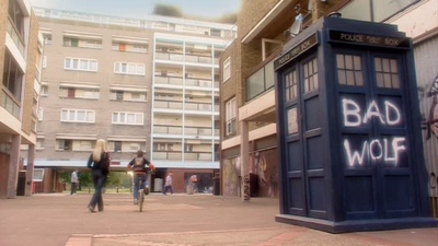 review series doctor who season 1 the tardis with bad wolf