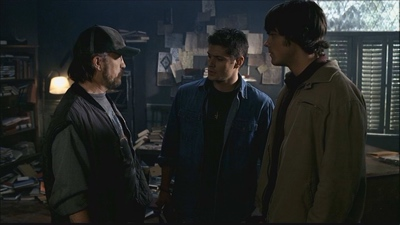 review series supernatural season 2 bobby sam dean