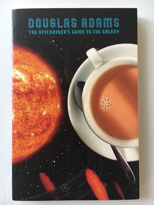 review book the hitchhikers guide to the galaxy douglas adams