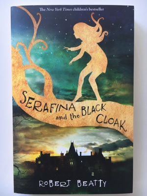 book review serafina and the black cloack robert beatty