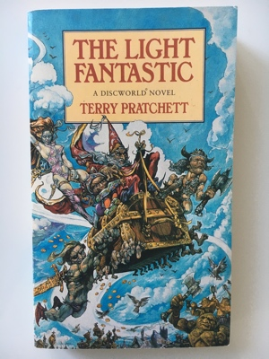 book review the light fantastic terry pratchett