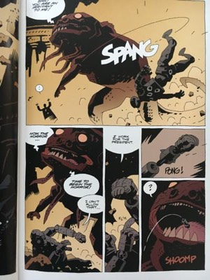 review graphic novel the amazing screw on head mike mignola