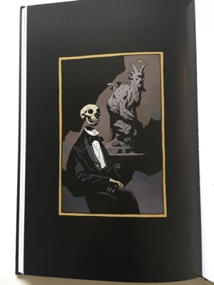 review grpahic novel the amazing screw on head mike mignola