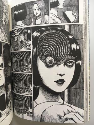 review graphic novel manga uzumaki junji ito