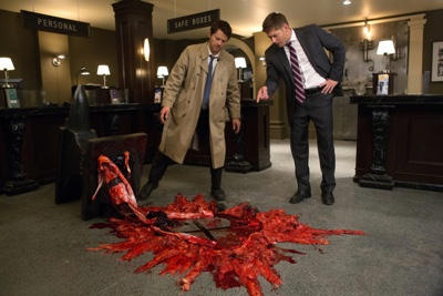 review series supernatural season 8
