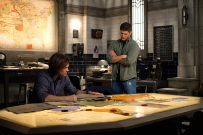 review series supernatural season8