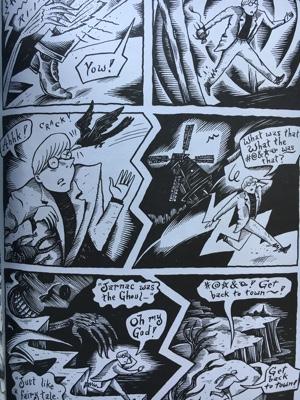 review graphic novel comic the chuckling whatsit richard sala