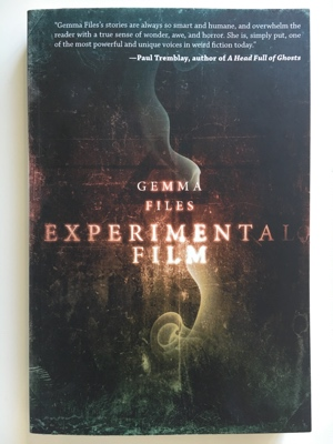 review book experimental film gemma files