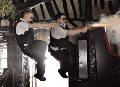 review film hot fuzz 2007