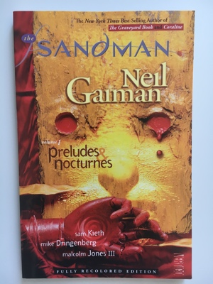 review graphic novel the sandman preludes nocturnes neil gaiman