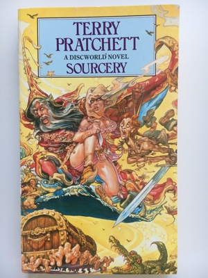 book review sourcery terry pratchett