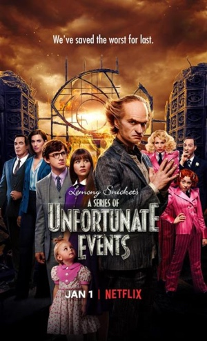 a series of unfortunate events season