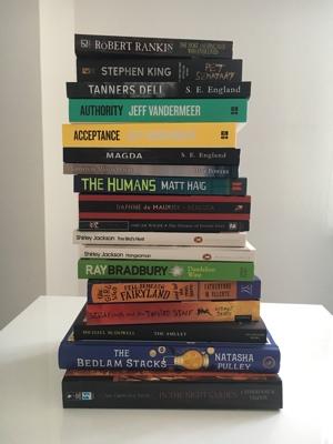 boeken stapel voor 2019