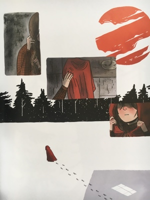 review graphic novel through the woods emily carroll