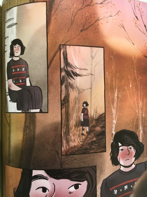 review graphic novel thorugh the woods emily carroll