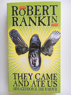 review book they came and ate us robert rankin