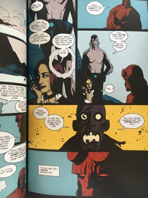 review graphic nvel hellboy omnibus 1 seeds of destruction mike mignola