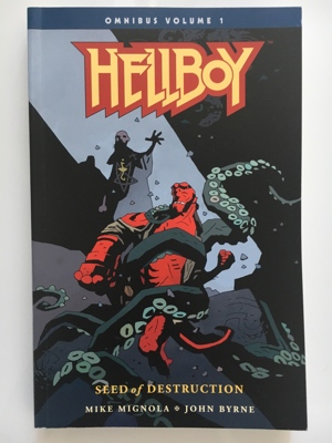 review graphic novel hellboy omnibus 1 seeds of destruction mike mignola