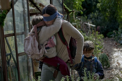 review film bird box 2018