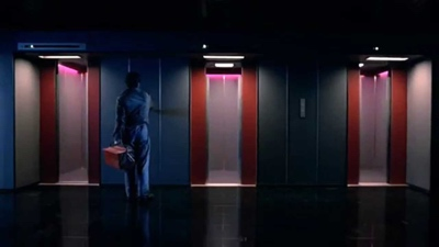 review film de lift 1983