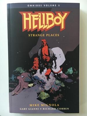 hellboy omnibus volmue 2 strange places mike mignola