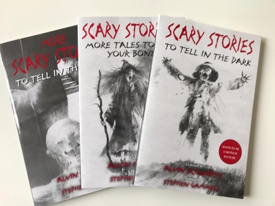 scary stories to tell in the dark alvin schwartz