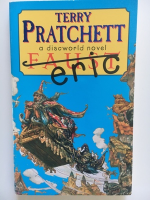 review book faust eric terry pratchett 1990