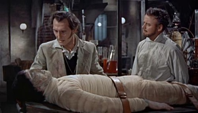 review film the curse of frankenstein 1957