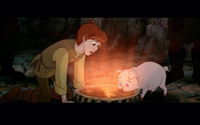 review film the black cauldron 1985
