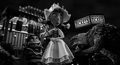 review film frankenweenie 2012