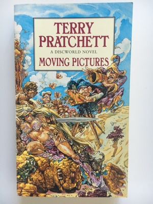 review book moving pictures terry pratchett